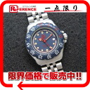 "Tag Heuer formula 1 Professional 200 m Womens watch SS Navy quartz WA1410 ""enabled."""