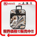 》 fs3gm of Emilio Putsch Putsch pattern carrier bag Brown line for 《