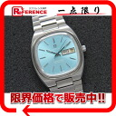 Omega Cima star TV screen color dial men watch D date automatic sky-blue antique 》 fs3gm for 《