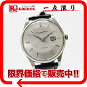 Antique cal.8531 《 correspondence 》 fs3gm made in three stitches of international watch Company old interchange men watch date Perak ton type self-winding watch SS black cobelt about 1960