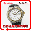 "Tag Heuer SEL professional 200 m European leather mens watch SS/YG leather belt WI1250-K0 ""response.""-fs3gm"