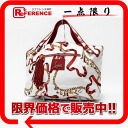クリスチャンルブタン LUCKY CHARM (lucky charm) shopping tote bag white X red 》 fs3gm 02P05Apr14M for 《