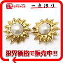 CHANEL imitation pearl earrings gold 》 fs3gm for 《