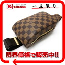 """Louis Vuitton Damier """"Jerónimos"""" old body bag N51994 beauty products """"enabled."""" fs3gm02P05Apr14M"""