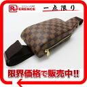 "Louis Vuitton Damier ""Jerónimos"" new body bag N51994 good as new ""response.""-fs3gm02P05Apr14M"