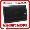 "Cartier Pasha leather 6-key case black ""response.""-fs3gm"