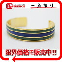 "Loewe Bangle Bracelet Gold × Green x blue ""response.""-fs3gm"