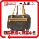 "Louis Vuitton Monogram cite MM-shoulder bag M51182-? s enabled.""fs3gm"