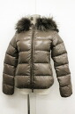 38 down jacket brown 》 fs3gm 02P05Apr14M 02P02Aug14 with デュベッカ ADHARA アダラレディースファーフード for 《