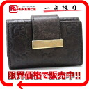 Gucci ICON BAR (symbol bar) guccissima fs3gm 6-key case dark brown 212098? s support.""