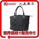 "Chanel Cambon line rage that black x black A25169 ""response.""-fs3gm02P05Apr14M"