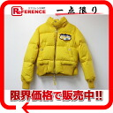 "Dsquared women's down jacket 40 yellow ""response.""-fs3gm"
