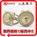 Gianni Versace Medusa scarf ring set gold 》 fs3gm for 《