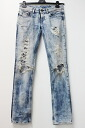 Diesel damage wash processing slim straight denim underwear 25 lady's blue 》 fs3gm for 《