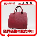 """Pont Neuf"" Louis Vuitton EPI leather handbags カスティリアンレッド M52057? s support.""fs3gm"