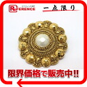 CHANEL imitation pearl broach gold 》 fs3gm for 《
