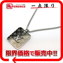 "Louis Vuitton ""bread Dan TIFF Champs-Elysees PM"" necklace pendant M65452-free 》 fs3gm for 《"