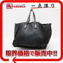 Lambskin black 261506 》 fs3gm with ボッテガヴェネタイントレチャートトートバッグポーチ for 《