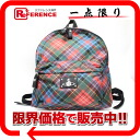 Vivien waist Wood kilt check rucksack red system multi-; unused 》 fs3gm for 《