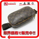 "Louis Vuitton monogram ""ポシェットガンジュ"" body bag M51870 》 fs2gm fs3gm for 《"