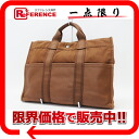 Hermes half-leather thereto Tote MM Brown? s support.""