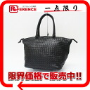 "Bottega Veneta intrecciato tote bag mirror with black 214728 beauty products ""enabled."""