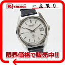 "Seiko Grand Seiko hitherto 36,000 men's watch SS Croco leather belt automatic winding antique 6145-8000 ""response.""-fs3gm"