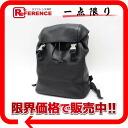 PRADA Prada Vitello travel leather rucksack sack black B8904 pre-owned