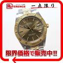 "☆ popular antique ☆ Rolex Datejust Thunderbird men's watches SS×K18YG automatic 1625 vintage 1975 ""response."""
