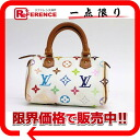 "Louis Vuitton Monogram multicolor ""ミニスピーディ"" mini handbag Bron (white) M92645 ""response.""-fs3gm"