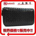 ボッテガヴェネタイントレチャートラウンドファスナー long wallet black 》 fs3gm 02P05Apr14M for 《