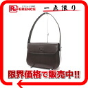 Moschino leather semi-shoulder bag dark brown 》 fs3gm for 《
