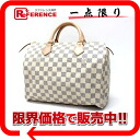 "30 ルイヴィトンダミエアズール ""speedy"" mini-Boston handbag N41533-free 》 fs3gm for 《"