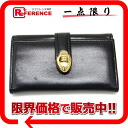 "Givenchy in 2000s leather 5-key case black ""response.""-fs3gm"