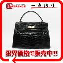 Crocodile handbag black 》 fs3gm 02P05Apr14M for 《