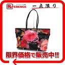 "Fendi flowerzucchino ""roll bag"" tote bag black series multi-color 8BH185 ""response.""-fs3gm02P05Apr14M"
