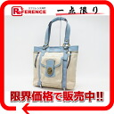 "Coach legacy NYL signature tote bag light khaki / light blue F13103 ""for"" fs3gm"