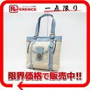 "Coach legacy NYL signature tote bag light khaki / light blue F13103 ""for"" fs3gm"