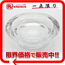 BVLGARI Rosenthal crystal ashtray ashtray large clear 47504 like-new 》 fs3gm for 《