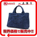 Prada DENIM (denim) unused Avia mini tote bag (blue) BN2439 fs3gm? s support.""