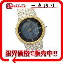 "Seiko credor men's watch SS×K18YG blackhurdonicus dial onikislues quartz 5A74-0230 ""response.""-fs3gm02P05Apr14M02P02Aug14"