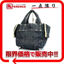 CHANEL sparkling denim tote bag blue 》 fs3gm for 《
