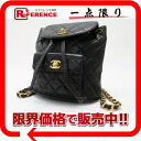 CHANEL lambskin matelasse rucksack black black 》 fs3gm 02P05Apr14M for 《