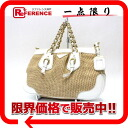 PRADA straw style tote bag natural / white BN1323 》 fs3gm for 《