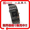 "Chanel matelasse Womens watch SS × leather dark brown quartz ""response."""