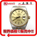 》 fs3gm made in 17013 Rolex oyster quartz date just men watch SS X K18YG quartz 1985s for 《