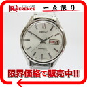 "Seiko business ACE diamond shock 30 stone day-date mens watch automatic 8306-9000 antique ""response."""