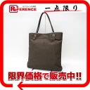 "Prada ロゴジャ guard tote bag dark brown BR3581 ""response.""-fs3gm"