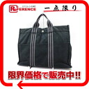 "Hermes thereto Tote MM black x grey? s support.""fs3gm"