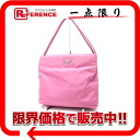 PRADA nylon tote bag pink 》 fs3gm for 《